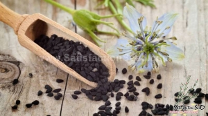 black cumin herb seeds
